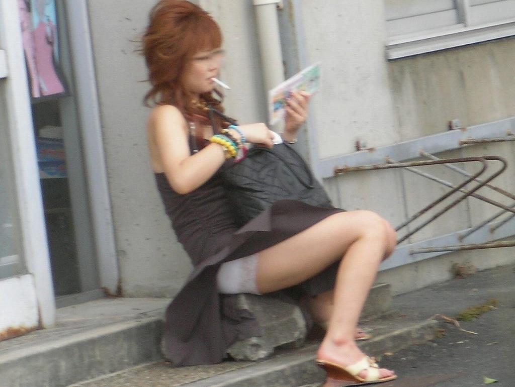 ラッキー,パンチラ,風の悪戯,ハプニング,チラリズム,エロ画像【14】