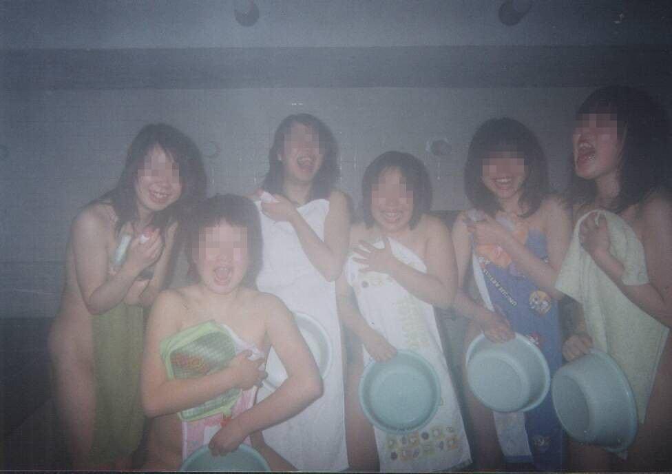 女同士,温泉,旅行,素人,エロ画像【27】