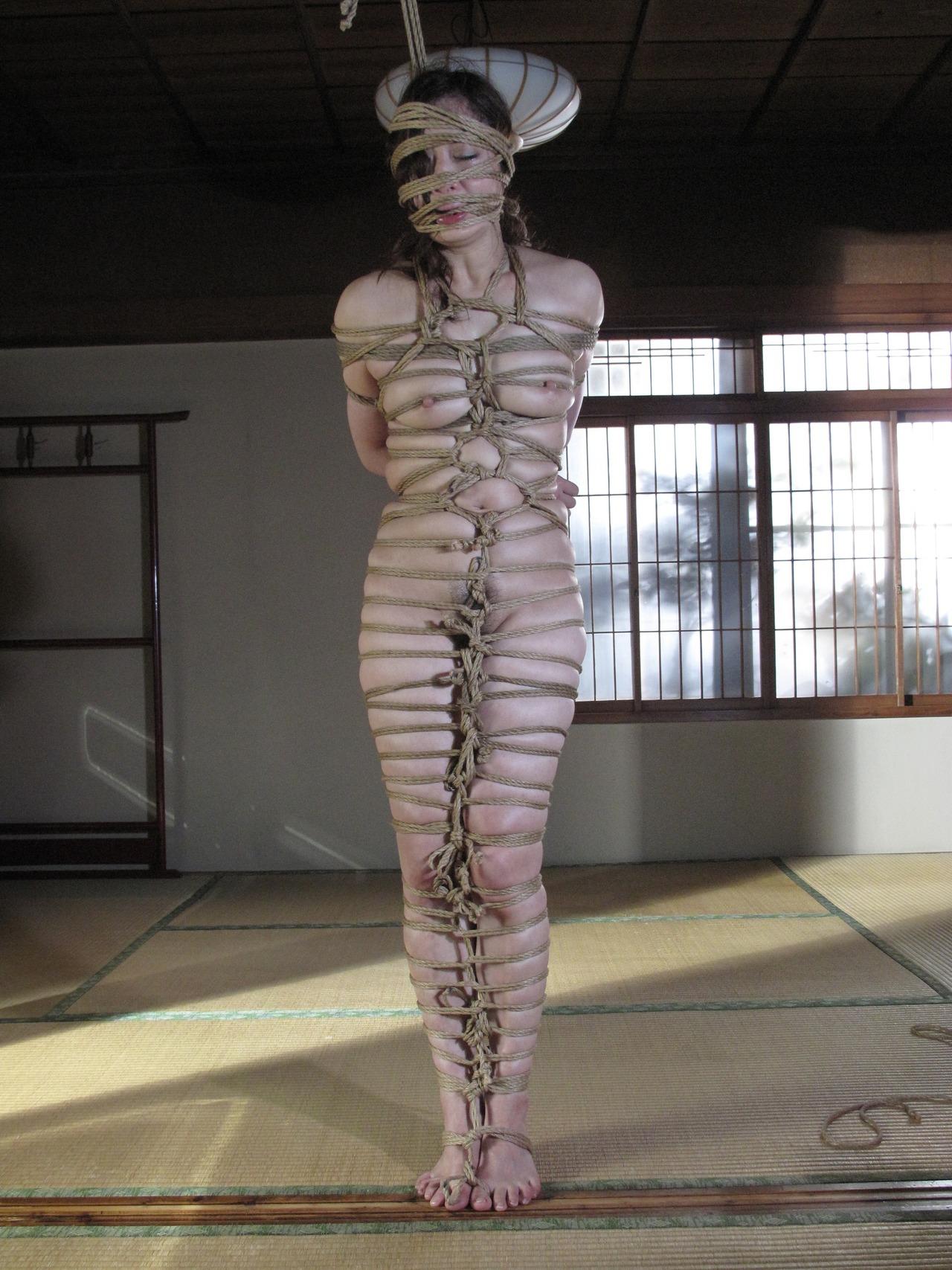 縄縛り画像 縄縛り,ロープ,緊縛,エロ画像【9】