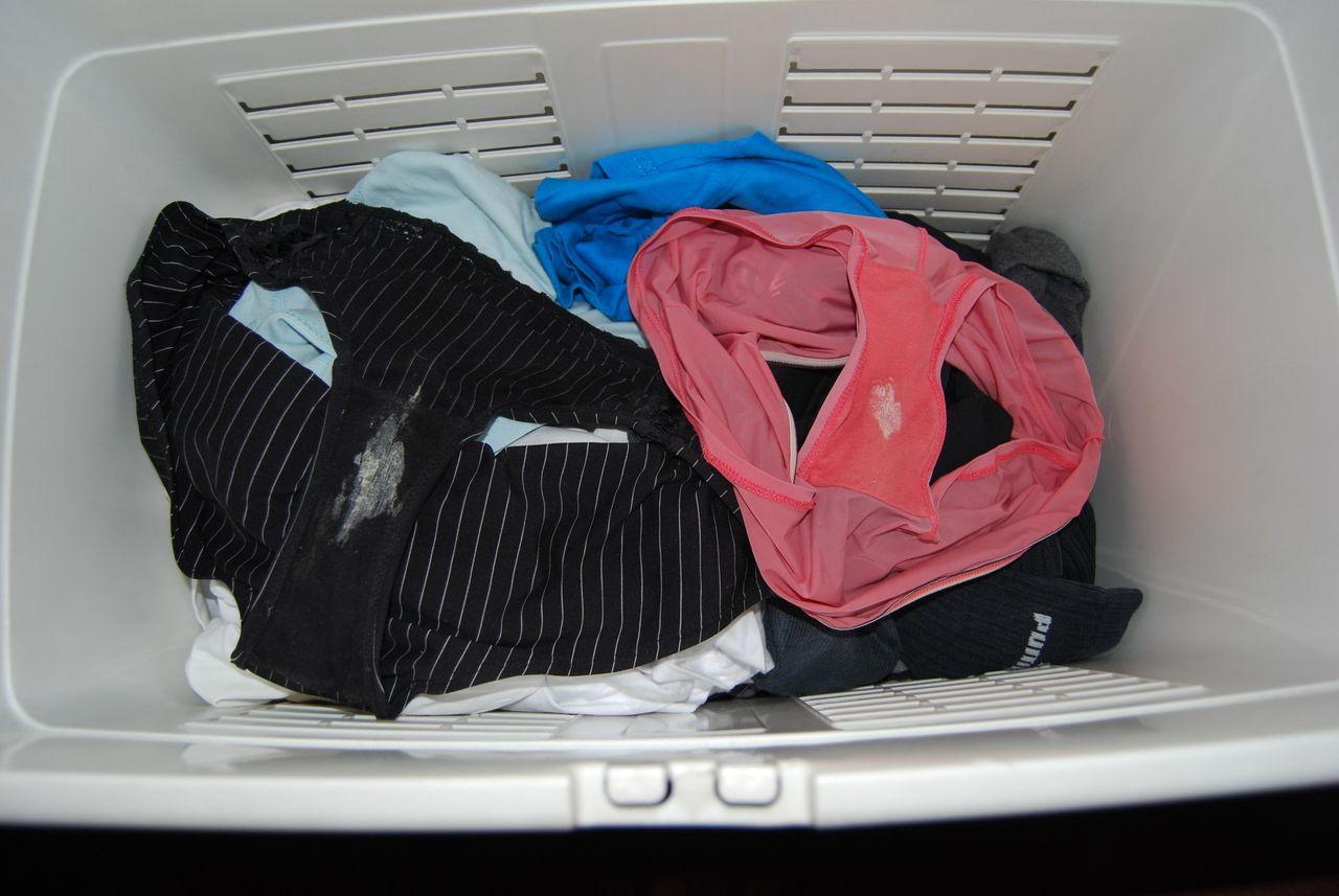 洗濯前,べっとり,汚パンツ,エロ画像【29】