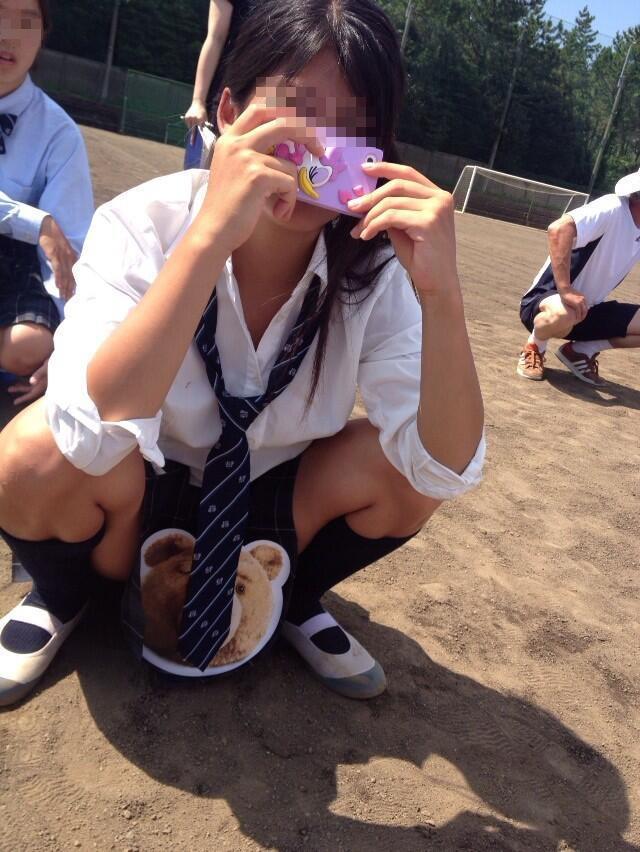 JK,おふざけ,女子高生,パンチラ,エロ画像【29】