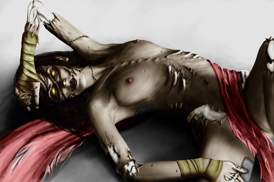ゾンビ,二次元,人外,エロ画像,死者