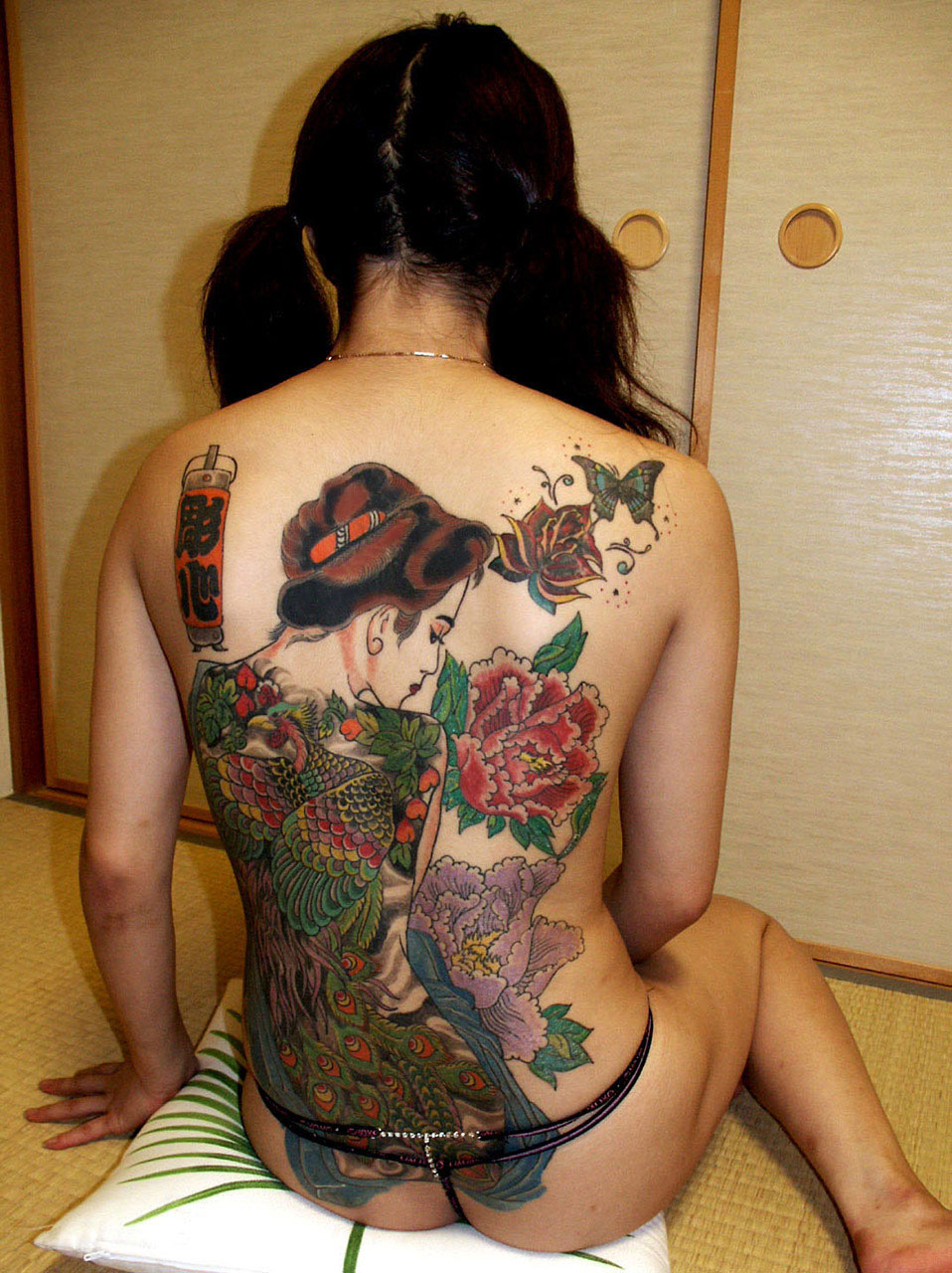 堅気,日本人,刺青,エロ画像【2】