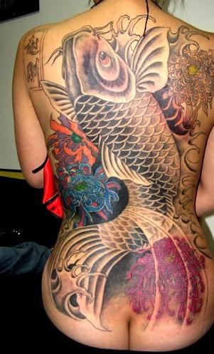 堅気,日本人,刺青,エロ画像【4】