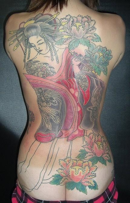 堅気,日本人,刺青,エロ画像【17】