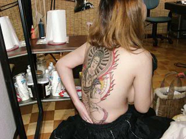 堅気,日本人,刺青,エロ画像【26】