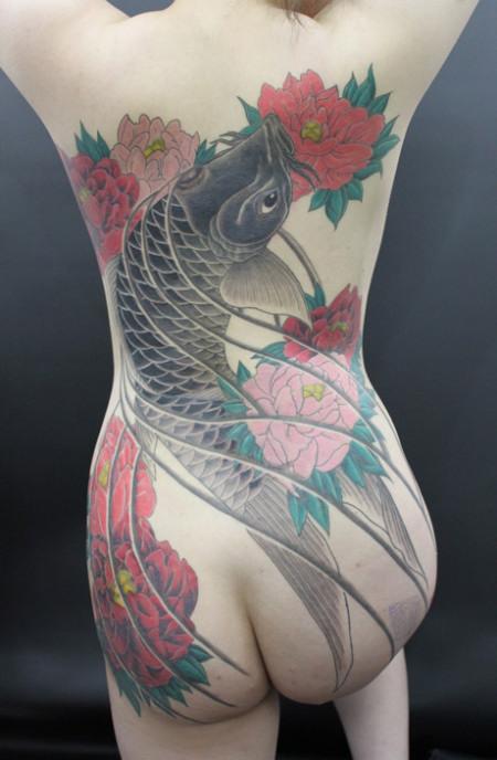 堅気,日本人,刺青,エロ画像【29】