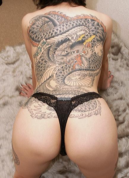 堅気,日本人,刺青,エロ画像【35】