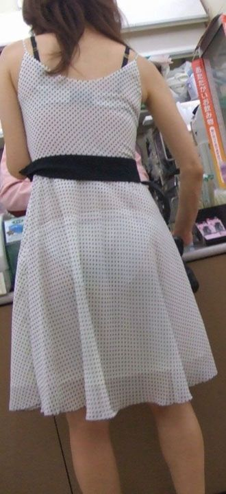 ブラ,パンツ,乳首,マンコ,全身,透け,エロ画像【25】