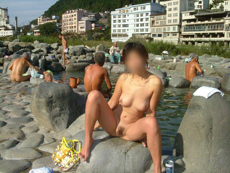 混浴,温泉,エロ画像,裸,エロ写真【3】