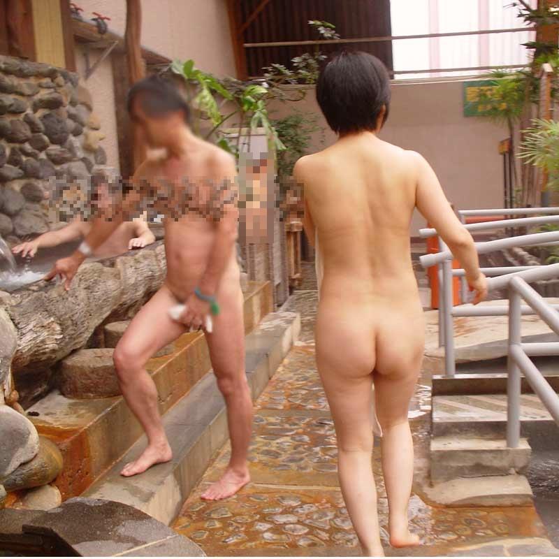 混浴,温泉,エロ画像,裸,エロ写真【25】
