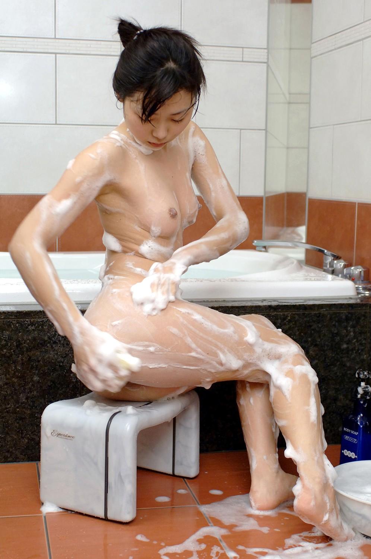風呂,ソープ,マンコ,洗う,泡,女体,エロ画像【19】