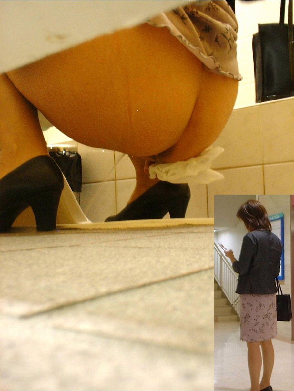 トイレ,休憩,働く女性,放尿,盗撮,エロ画像【2】