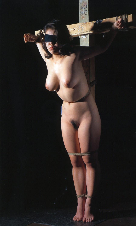 人妻 SM緊縛 017 十字架,磔,変態,調教,エロ画像【17】