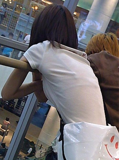 ブラジャー,透け,透けブラ,街撮り,エロ画像【10】