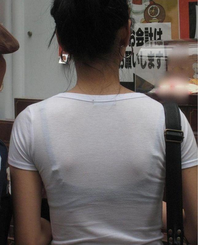 ブラジャー,透け,透けブラ,街撮り,エロ画像【18】