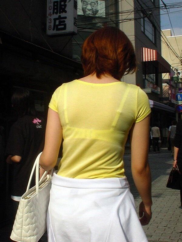 ブラジャー,透け,透けブラ,街撮り,エロ画像【24】