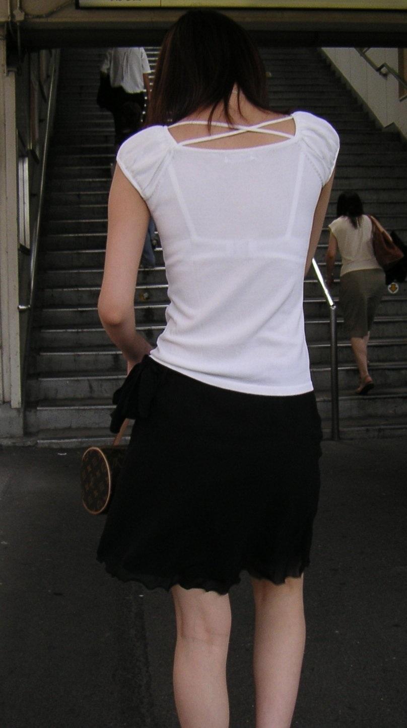 ブラジャー,透け,透けブラ,街撮り,エロ画像【31】