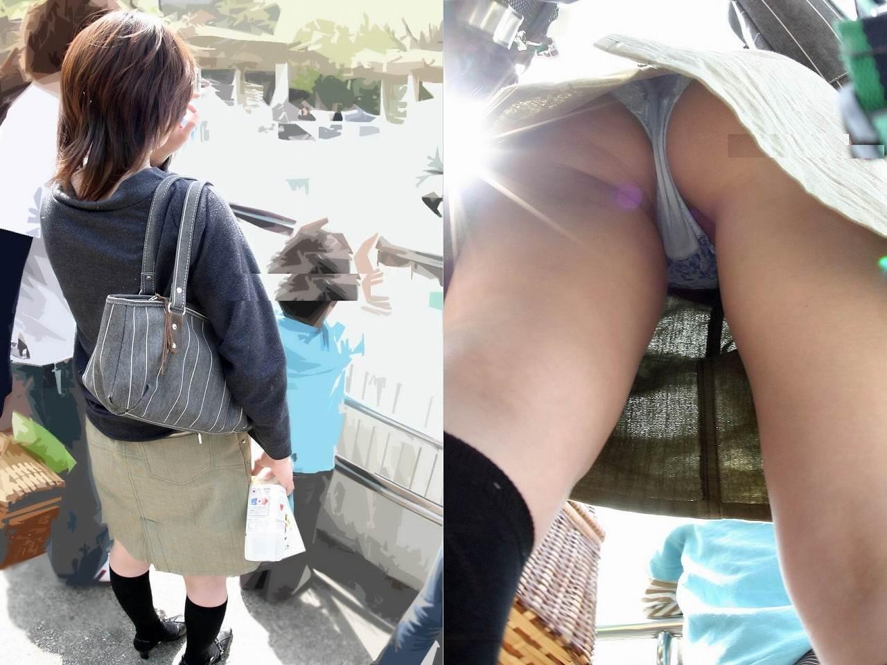 子ども,ママ,パンツ,ミセス,パンチラ,エロ画像【21】