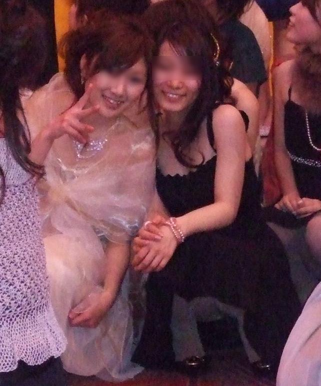 披露宴 結婚式 二次会 パーティー ドレス パンチラ エロ画像【3】