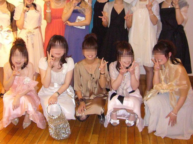 披露宴,結婚式,二次会,パーティー,ドレス,パンチラ,エロ画像【9】