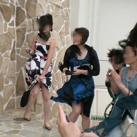 披露宴,結婚式,二次会,パーティー,ドレス,パンチラ,エロ画像【22】