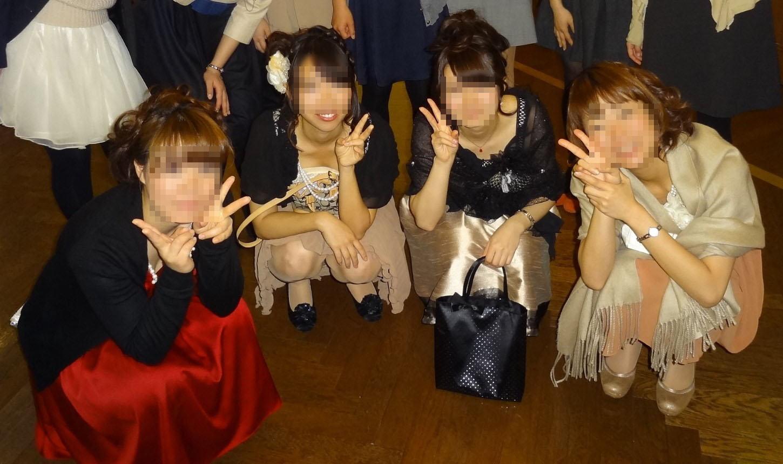 披露宴,結婚式,二次会,パーティー,ドレス,パンチラ,エロ画像【25】