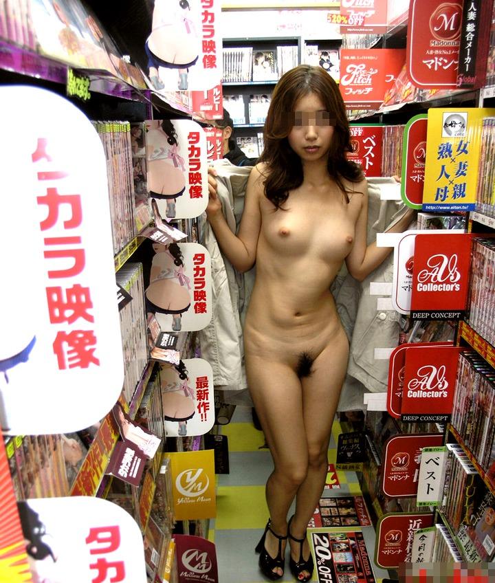 エロ本,AV,露出狂,アダルトショップ,店内,屋内露出,エロ画像【11】