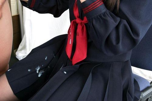 洋服,精子,着衣,ザーメン,ぶっかけ,エロ画像【17】