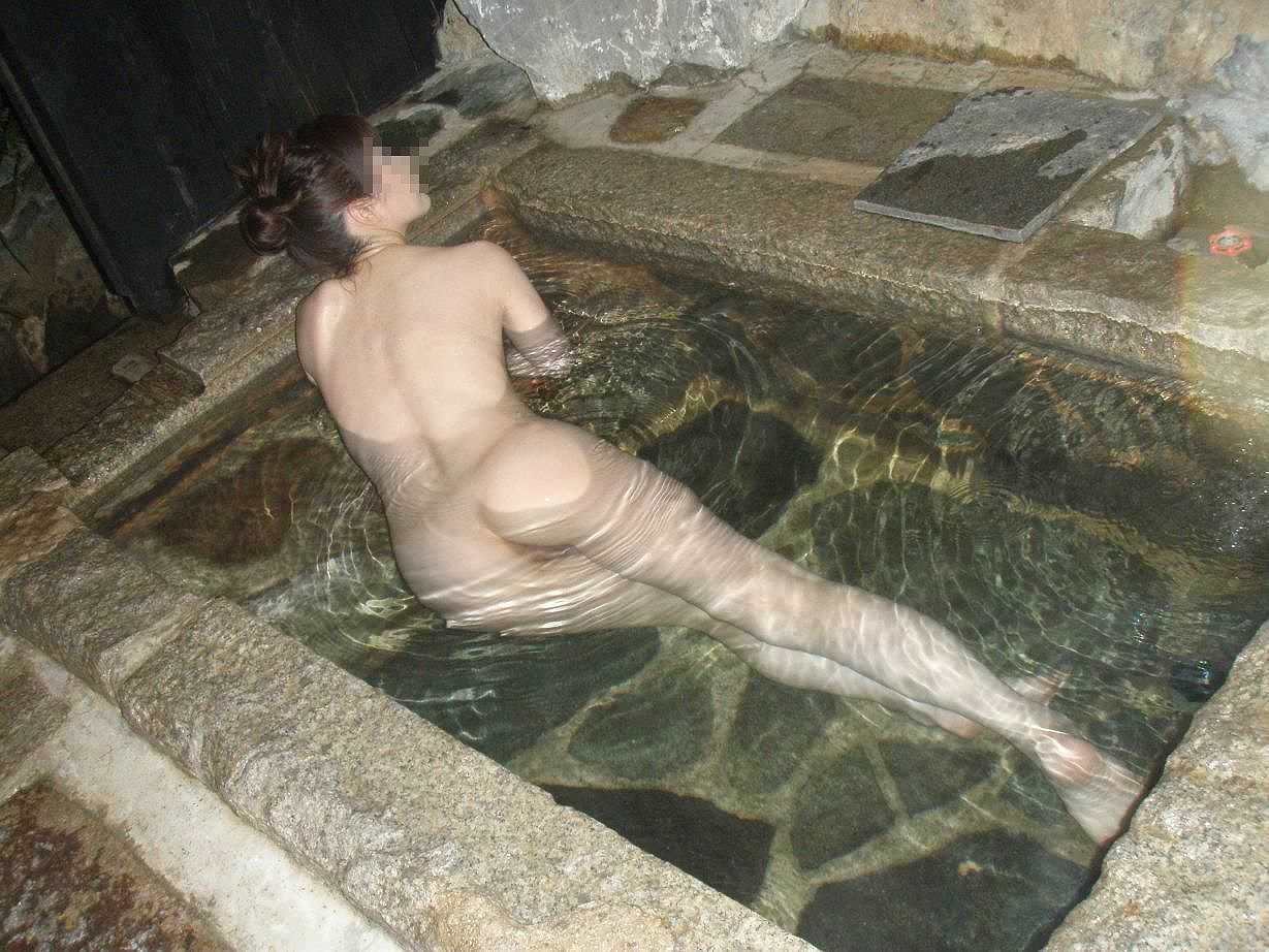 彼女,温泉,デート,流出,家族風呂,露天風呂,エロ画像【7】