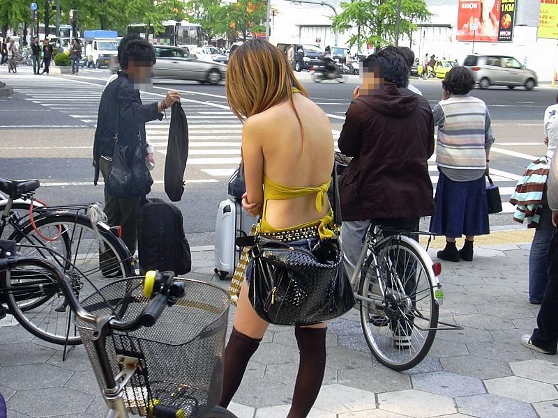 ギャル,私服,派手,露出,街撮り,エロ画像【11】