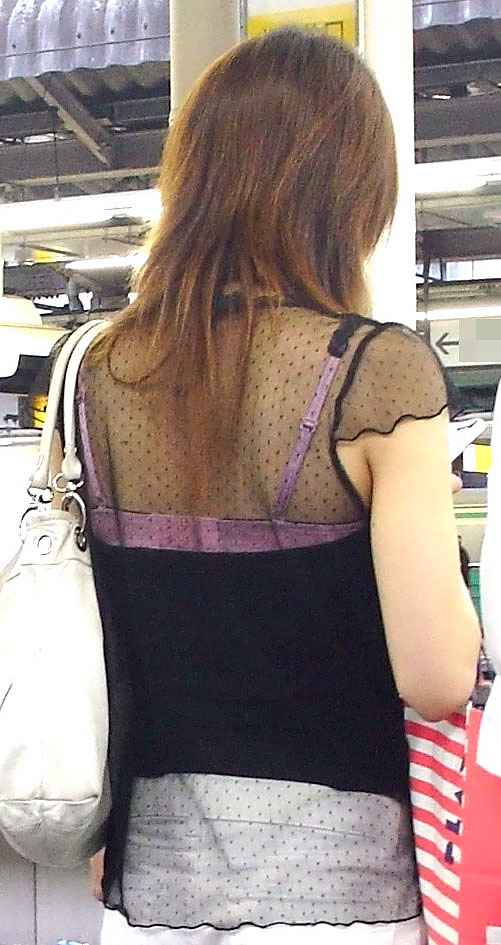 ギャル,私服,派手,露出,街撮り,エロ画像【14】