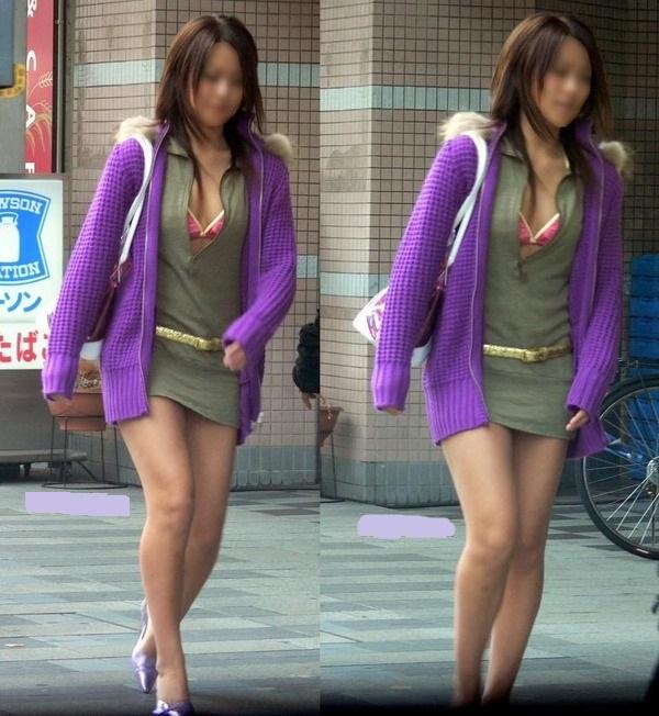 ギャル,私服,派手,露出,街撮り,エロ画像【33】