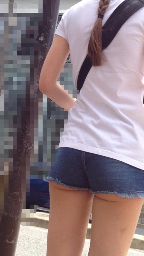 ショーパン,短パン,お尻,ハミケツ,エロ画像【19】