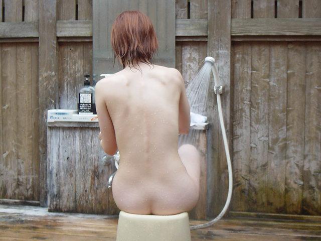 風呂,背中,エロ画像【6】