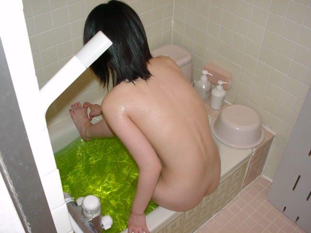 風呂,背中,エロ画像【45】