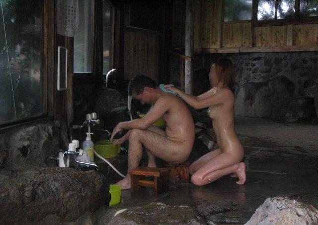 風呂,背中,エロ画像【58】