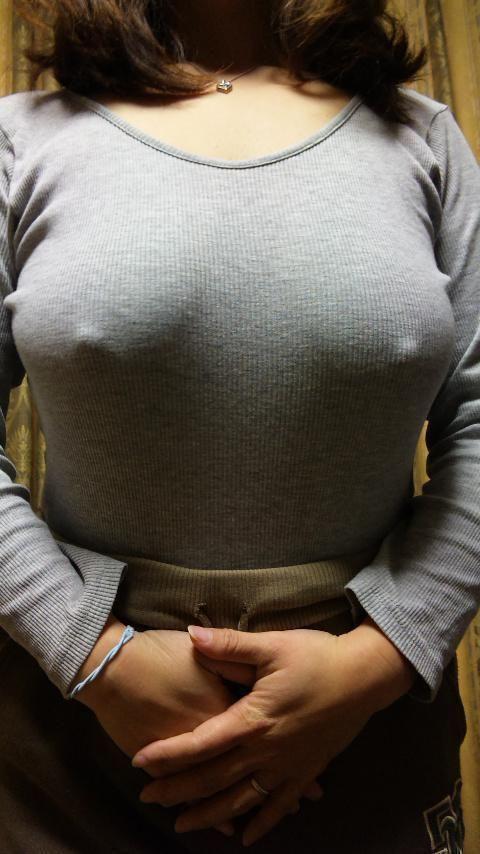 透けブラ 透け乳首 エロ画像【30】