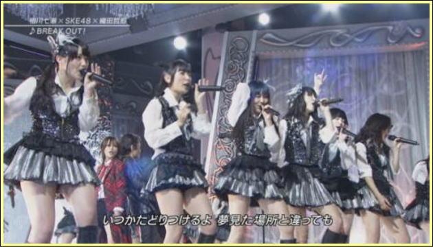 ミニスカ太もも!FNS歌謡祭2013をエロ目線で見る(*゚∀゚*)ムハー!!