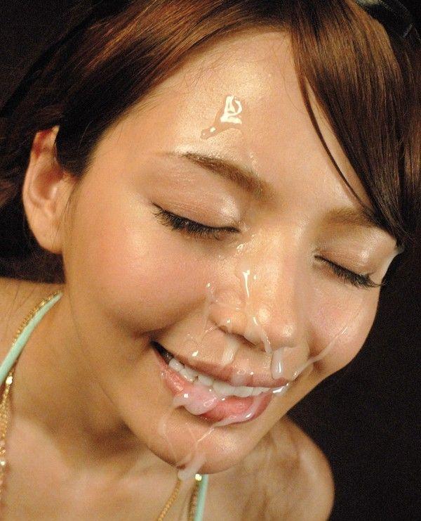 精子・愛!ザーメンぶっかけで幸せに浸る汚汁大好き女のエロ画像【3】