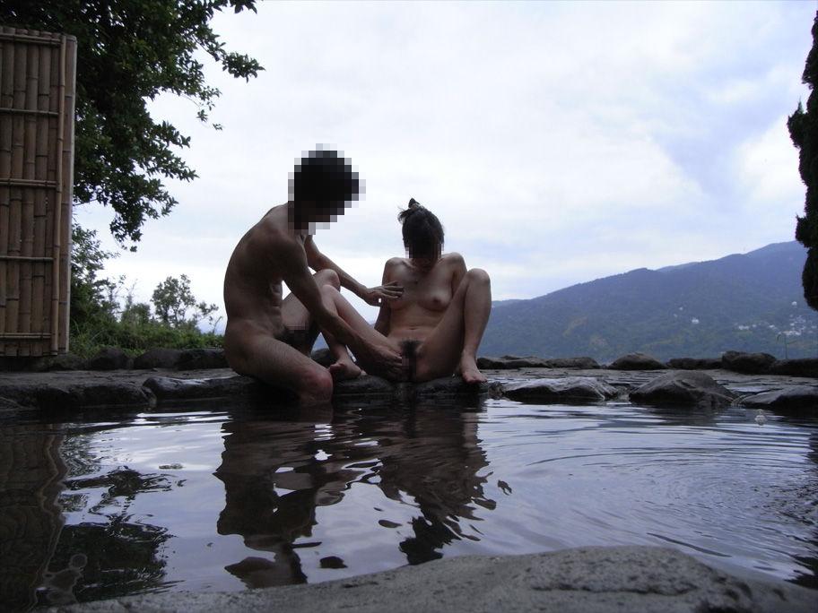 【温泉旅行】素人が撮影した記念写真がエロ過ぎてオナネタにしかならない・・・【10】