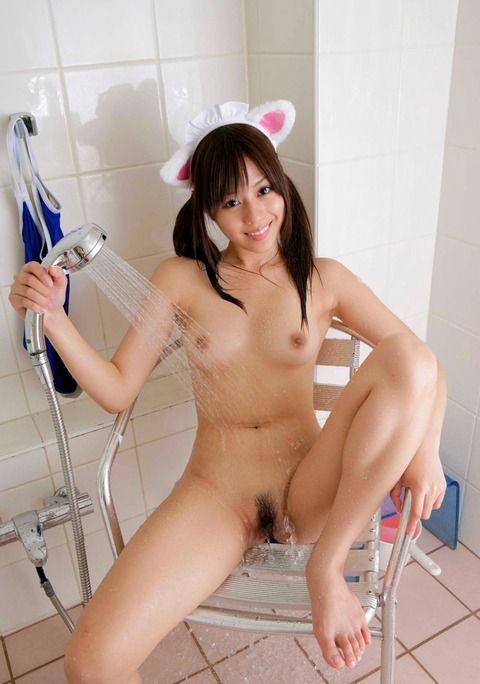 【濡れマン画像】女の子の陰毛は濡れるとこうなるwwwww【10】