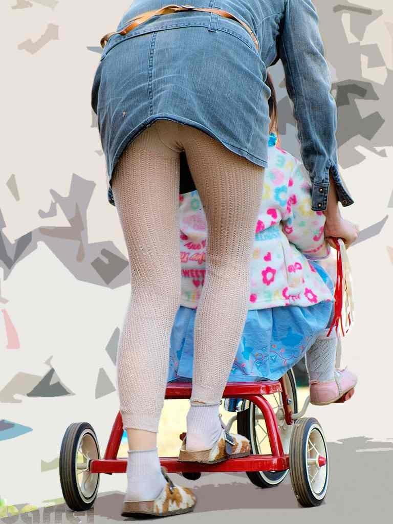 【ママのパンツ30枚】パンチラ画像に関しては子育て中の親が一番エロい【21】