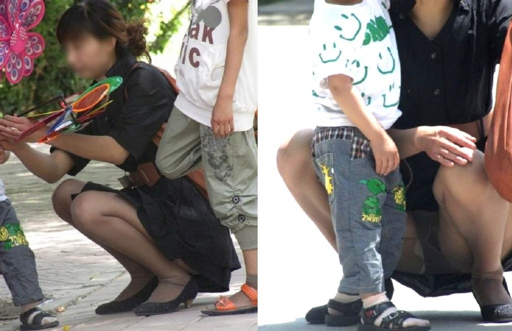 【ママのパンツ30枚】パンチラ画像に関しては子育て中の親が一番エロい【22】